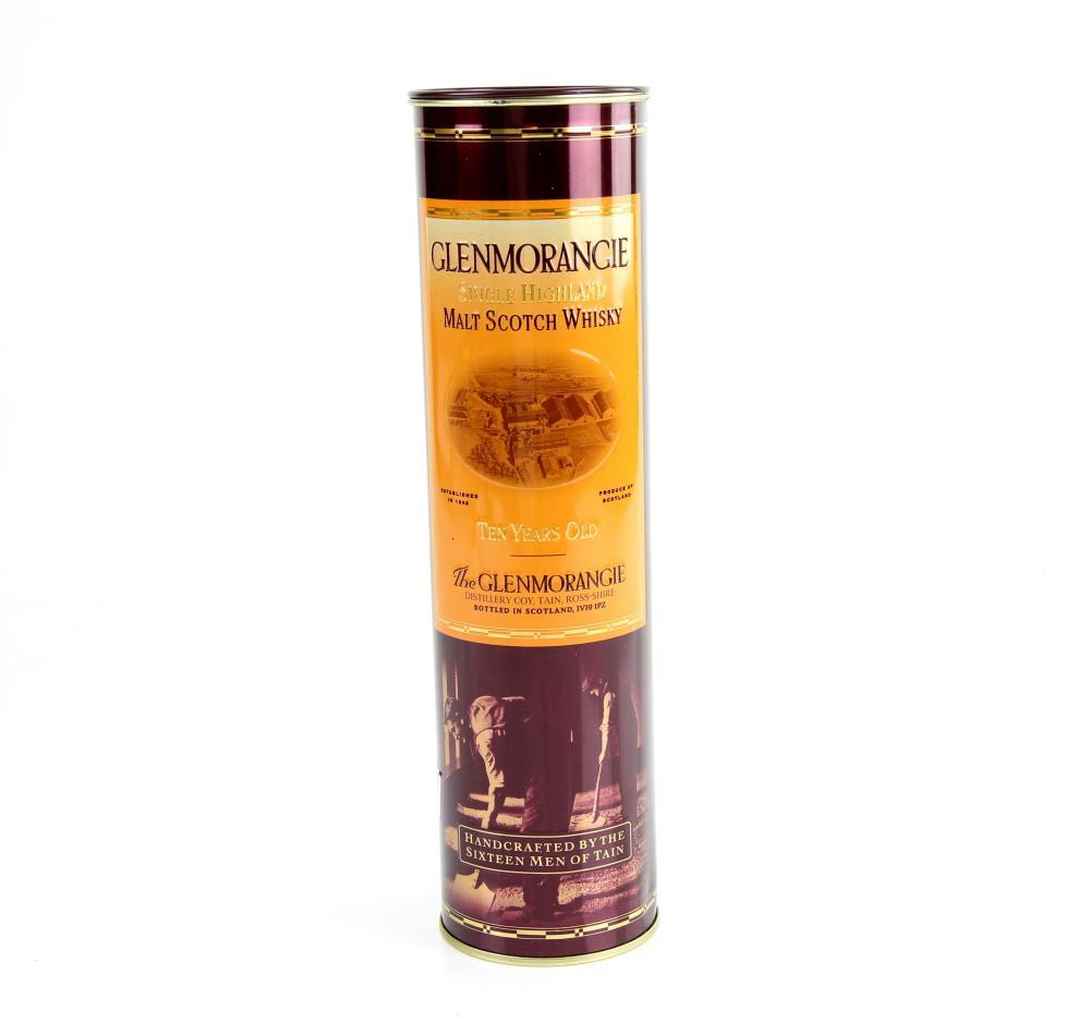 One bottle of Glenmorangie Single Highland Malt Sc
