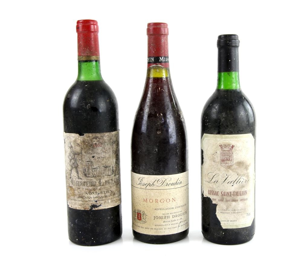 Three bottles of red wine to include one bottle of