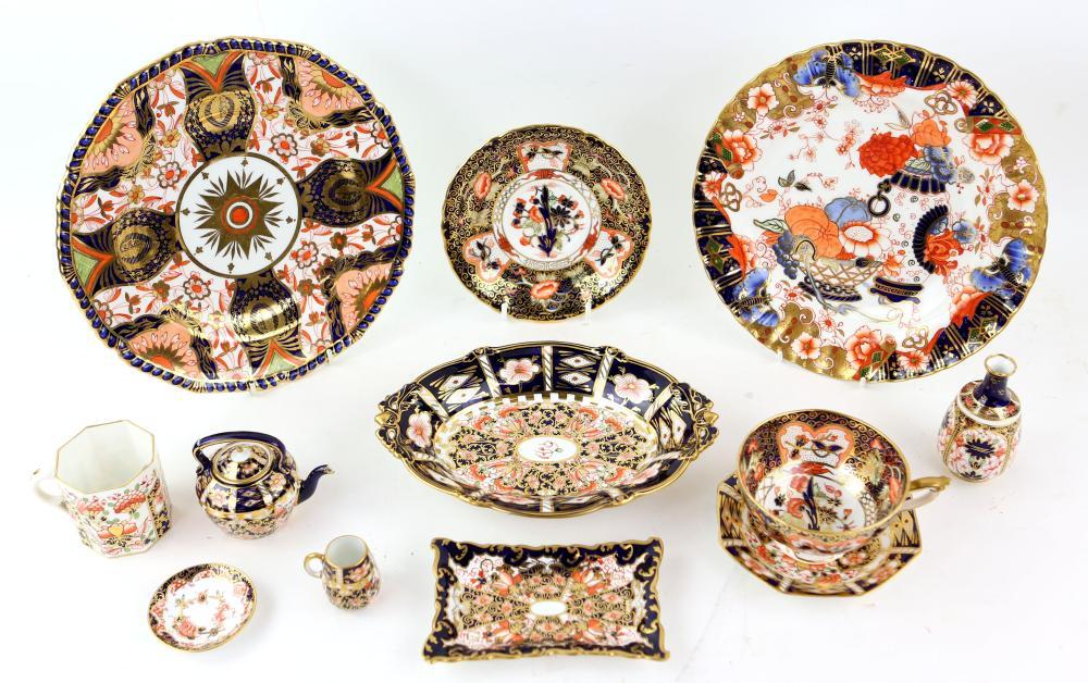 Royal Crown Derby Old Imari palette, pattern no. 1
