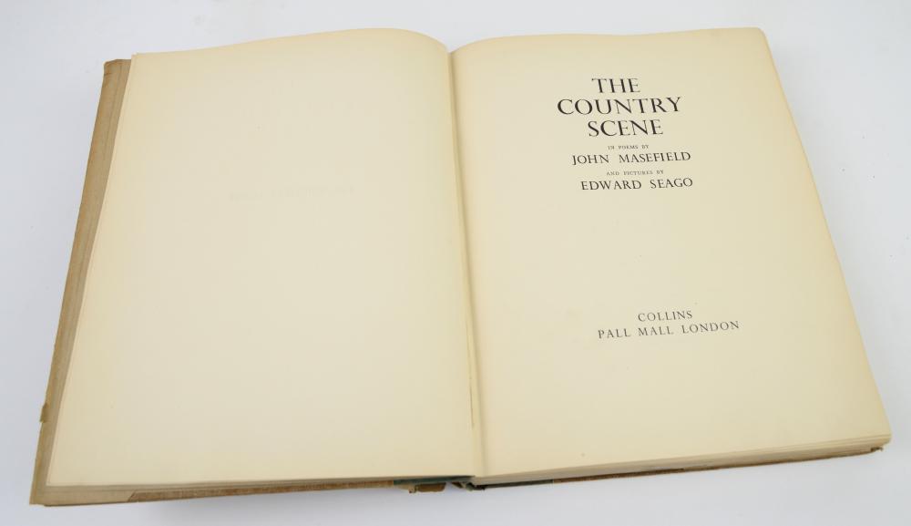 Seago (Edward) & Masefield (John) The Country Scen