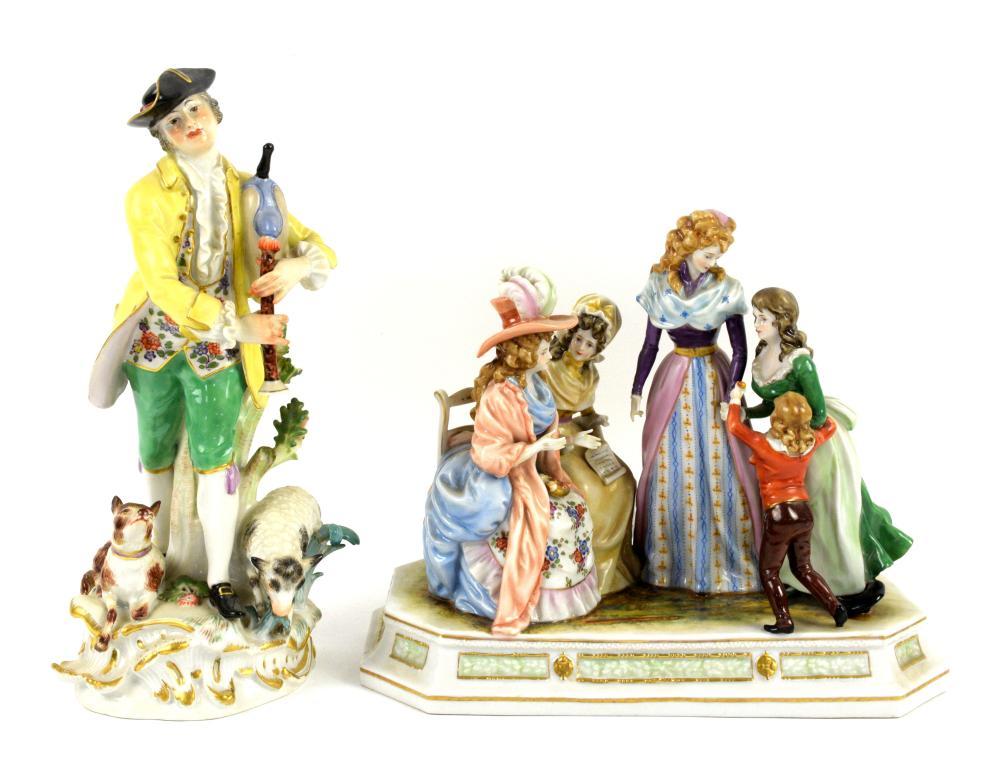 Porzellanmanufaktur Scheibe-Alsbach porcelain figu