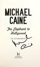 Michael Caine The Elephant To Hollywood - Autograp