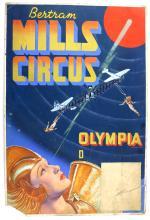 Bertram Mills Circus, Olympia - Featuring aerial a
