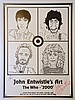 John Entwistle's Art The Who - '2000', an advertising poster signed by John Entwistle,, John Entwhistle, Click for value