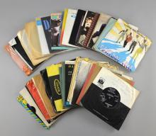 220+ vinyl 45 rpm singles including Prince, The Ro