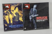 Bruce Springsteen - Two 4 LP Rox Vox box sets of C