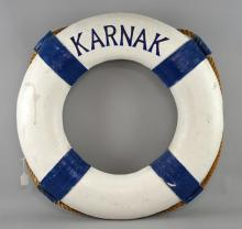 Death on the Nile (1978) Prop life ring/buoy used