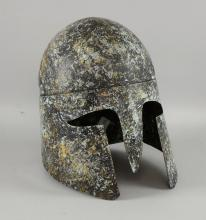 BBC Studios - Metal prop helmet used in various pr