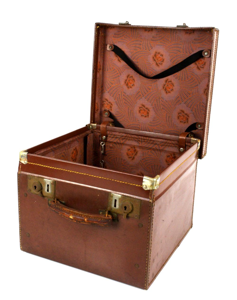 Sold Price Hat Case With Two Top Hats One By R W Forsyth July 5 0120 9 30 Am Bst