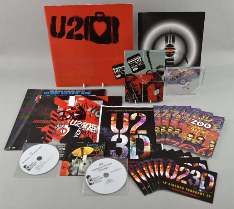 U2 live dvd s elevation zoo tv remastered promo version - Television c discount ...