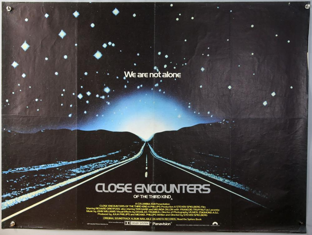 Close Encounters of the Third Kind Movie POSTER 27 x 40 B LICENSED NEW