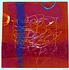 Heidi Konig (b.1964) 'New Start - NFS' monotype etching,, Heidi Konig, Click for value