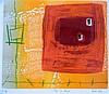 Heidi Konig (b.1964) 'Train To Konya' limited edition monotype etching, XI/XV, Heidi Konig, Click for value