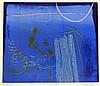 Heidi Konig (b.1964) 'Night Lifting' limited edition Artist Proof monotype etching, XI/XV,, Heidi Konig, Click for value