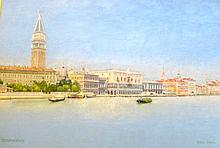 William Patrick Whyte (1850-1929) Venice, The Grand Canal, oil on canvas, signed and dated,
