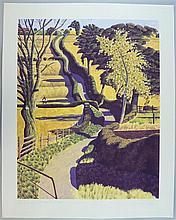 Simon Palmer (b. 1956) 'Drawing across the Ochre',