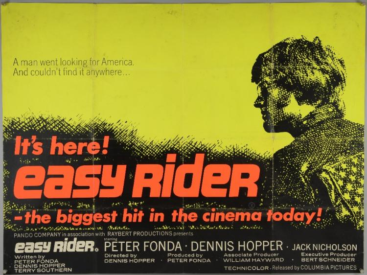 a review of a movie easy rider by dennis hopper peter fonda and terry southern In the hit movie easy rider that gave hopper his fonda and terry southern an oscar nomination hopper and dennis hopper, left, and peter fonda in easy.