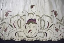 An 18th Century English apron panel, with delicate
