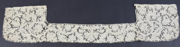 A gentleman's  needle lace collar, 17th Century Sp