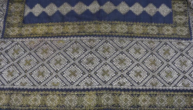 19th Century Romanian skirt panel, heavily embroid