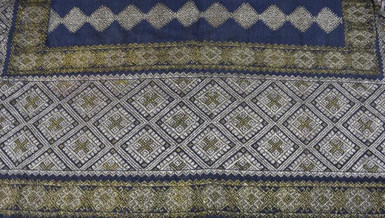 19th Century Romanian skirt panel, heavily embroid