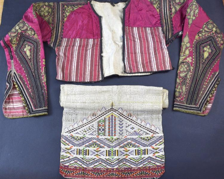 Group of 19th century Albanian items, including a
