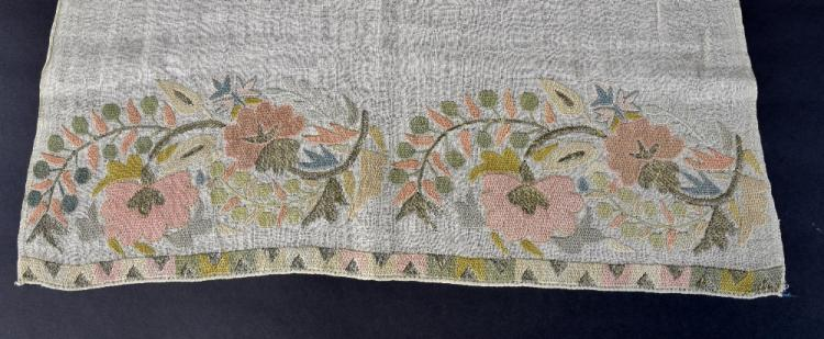 Ottoman towel late 18th to early 19th C finely wor