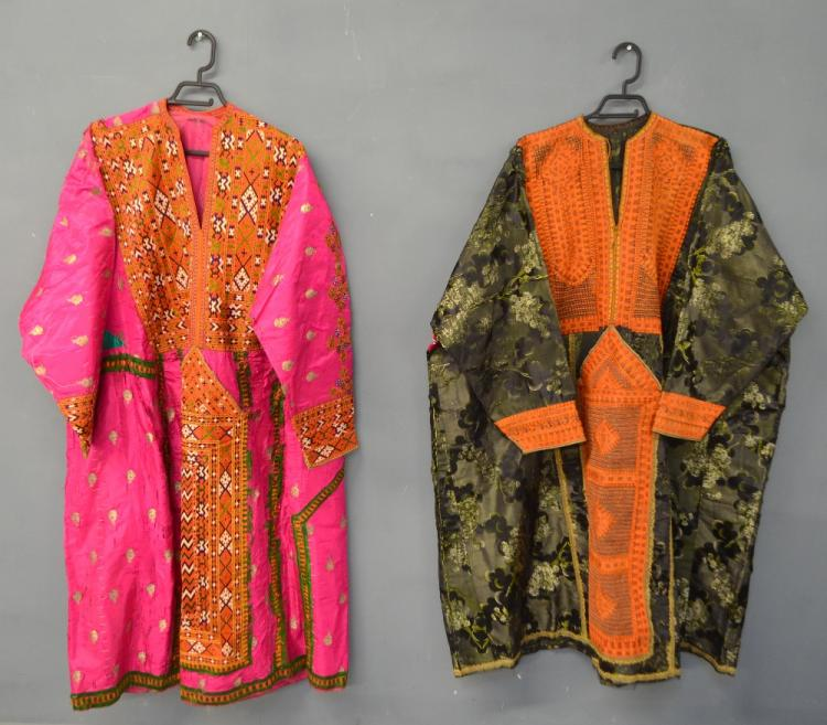 Baluchistan 19th C, Pushk Kurta,  a womens robe o