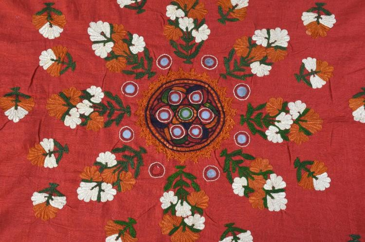 An Indian embroidered head shawl, Sind Rajasthan,