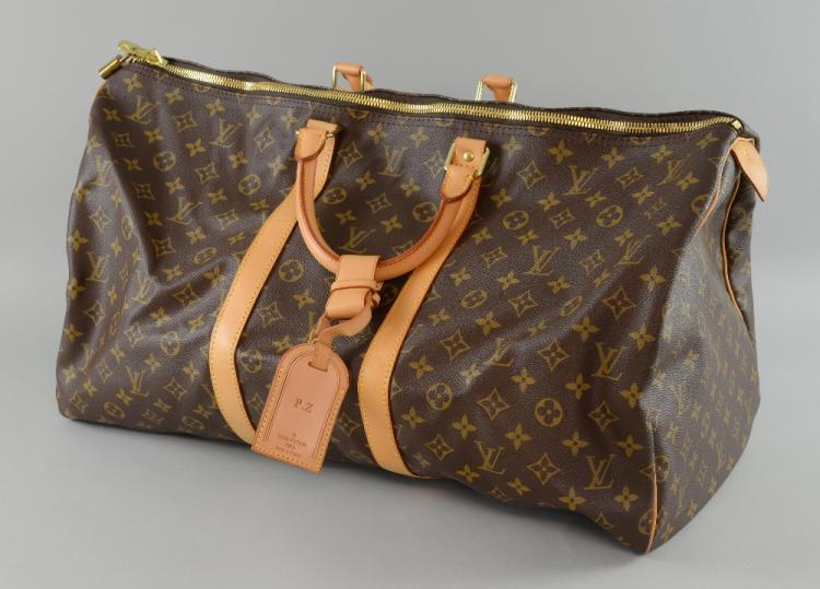 Louis Vuitton Monogram Speedy with double brass zi
