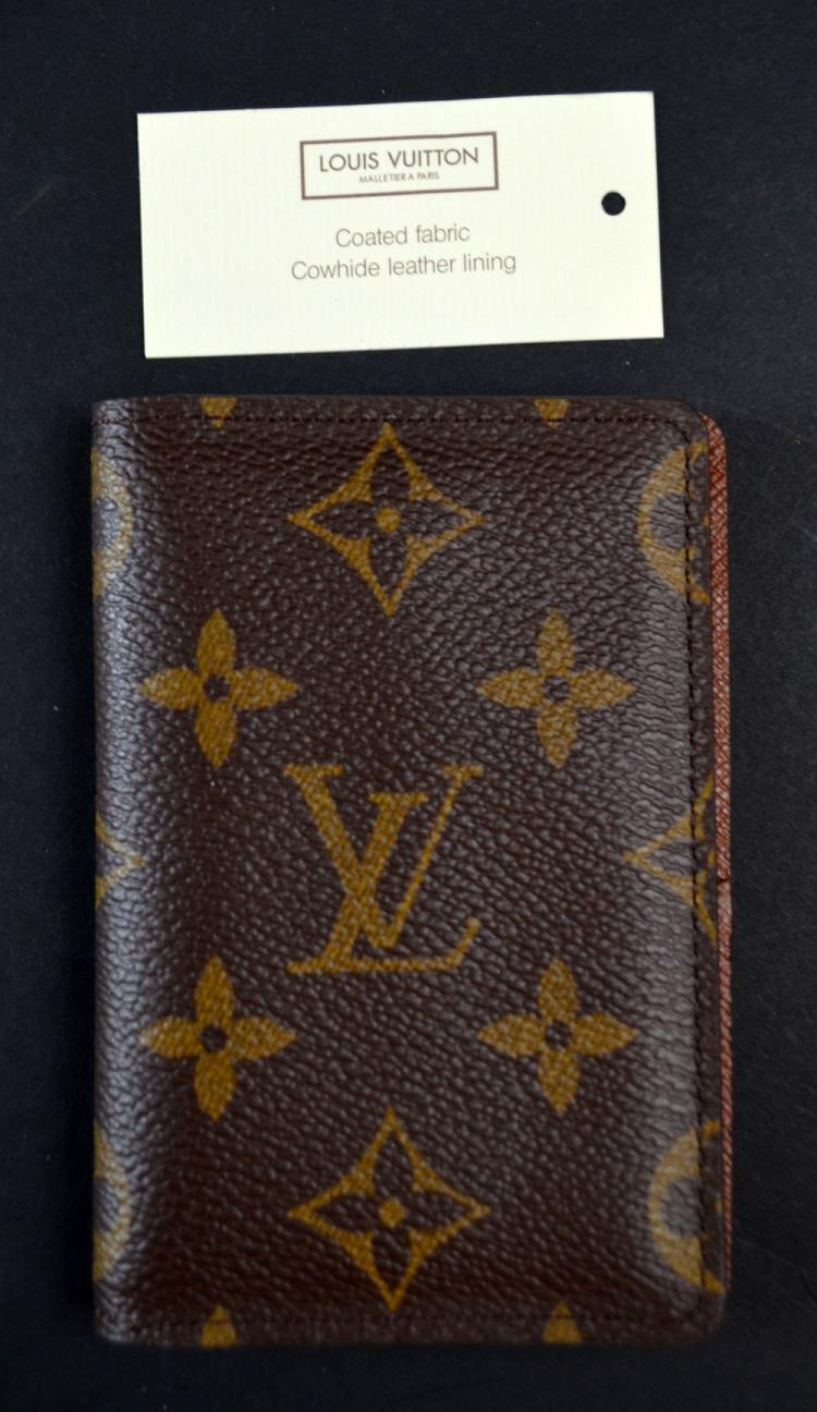 Louis Vuitton Monogram card holder, with original