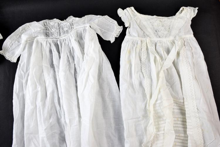 Regency christening gowns, early infants chemise
