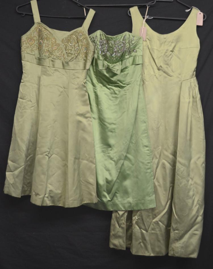 Six dresses various dates and makers,