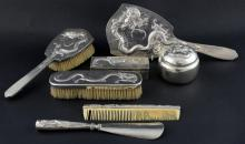 Mixed selection of Chinese silver dressing table i