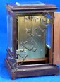 19th century rosewood and four glass clock by Desbois, London,