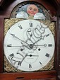 Late 18th/early 19th century eight day mahogany longcase clock, by Nichols, Isle of Wight.