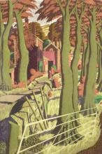 Simon Palmer (b.1956) 'Small farmer and the large