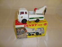 A boxed Bedford TK Crash Truck