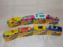 A group of boxed Matchbox Superfast models to include numbers: 33, 40, 46, 64, 14, 27, 4 and 1. G in G boxes (8)