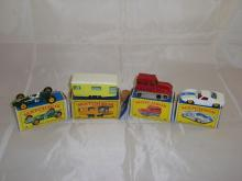 A group of Matchbox vehicles to include numbers: 19, 23, 35 and 41.  G-VG in F-G boxes (4)