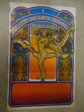 ROLLING STONES IN CONCERT (1969) - T.Lautrec Lithographic Promotional Poster - Very Good plus - Flat/Unfolded (as issued)