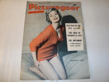 PICTUREGOER MAGAZINE - SINGLE ISSUE JANUARY 1959   - A single issue of Picturegoer magazine from January 1959. The cover art of this issue was subsequently used by the designer Jamie Reid, as the basis for the