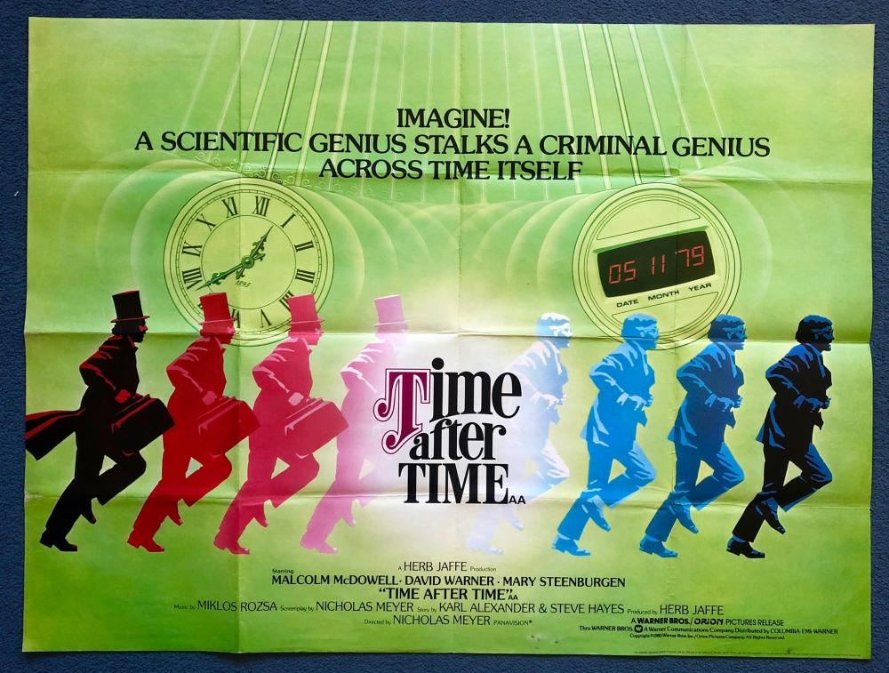 1979 Movie Posters: TIME AFTER TIME (1979)