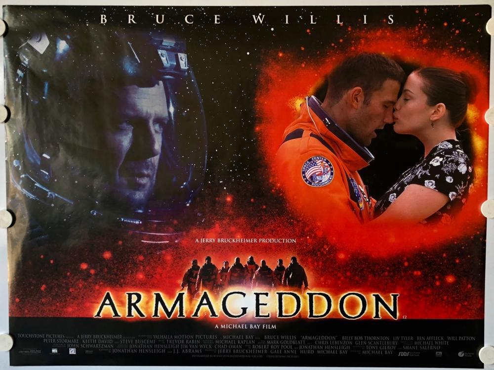 armageddon movie poster - 600×444
