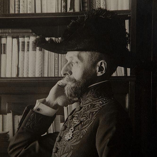 BOYLESVE Rene (1867-1926). Photograph by Meurisse