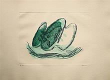 Jean Fautrier (1898-1964) - Le Fruits - Eau forte et morsure directe en couleurs - Signé au crayon dans la marge en bas à droite et justifié H/C - 38 x 56,5 cmBibliographie : Mason 240 éème état Engelberts 1942/12
