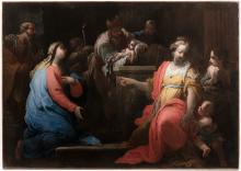 Giovanni Camillo Sagrestani (1660–1731) – attributed to, The Presentation of Christ in the Temple