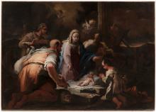 Giovanni Camillo Sagrestani (1660–1731) - attributed to, Adoration of the Shepherds
