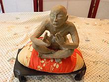 Ceramic Asian Decorative Piece