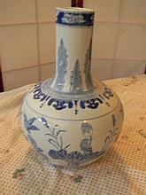 Painted Porcelain Vase